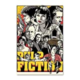 NCCDY Filmposter Quentin Tarantino Pulp Fiction Poster,