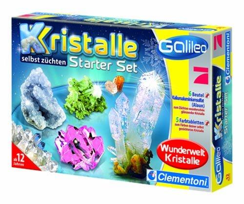 Clementoni 69517.1 - Galileo - Kristalle selbst züchten - Starter-Set