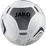 JAKO Trainingsball Motion 3.0, grau, Größe 5, IMS-zertifizierter Trainingsball
