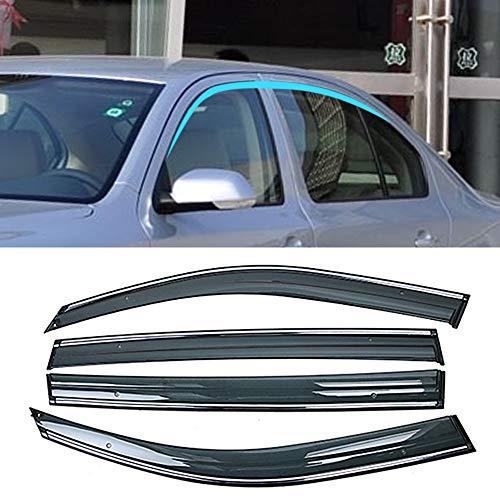 BAISHENG Autofenster Sonne Regen Schatten Visiere Schild Markisen Shelter Protector Cover, für Skoda Octavia 1Z 2004-2013