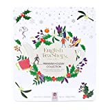 English Tea Shop Collezione di Tè e Tisane Biologici Assortiti in 9 Gusti ai Sapori del Natale in Cofanetto Eco-Box Metallo - 1 x 72 Bustine di Tè (108 Gram)