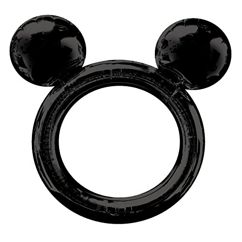 Amscan Mickey Mouse Ears Inflatable Selfie Frames Balloon