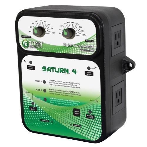 Titan Controls Digital Environmental Controller w/ Photocell, 120V - Saturn 4