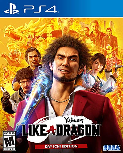 [Amazon US] Yakuza: Like a Dragon - Day Ichi Edition - PS4/Xbox One (33% Off $39.99)