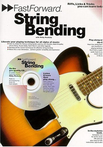 Fast Forward: String Bending (Book, CD): Noten, CD für Gitarre