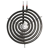 Replacement for General Electric RS744GP2BG 6 inch 5 Turns Surface Burner Element - Compatible with General Electric WB30M1 Heating Element for Range Stove & Cooktop