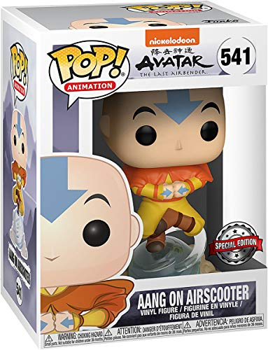Figura Funko Pop! Aang on Airscooter Avatar: The Last Airbender 541 Exclusivo