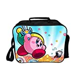 Qushy Kirby Unisex Adult Lunch Box Picnic Bag (E)