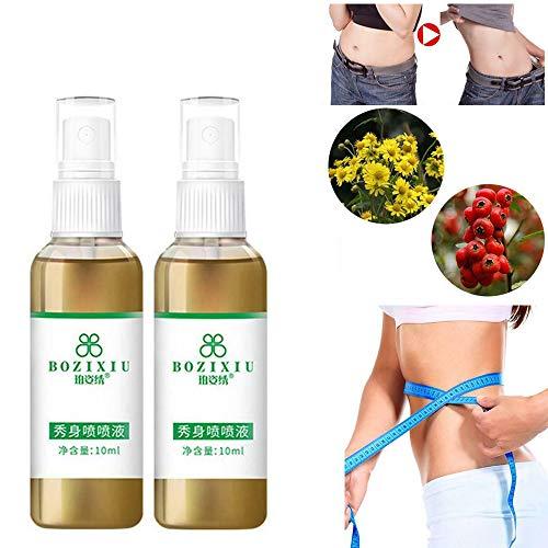 20ML / 30ML straffendes und formendes Schlankheitsspray, Lazy Portable Slimming Spray Straffungsserum zur Fettentfernung und Verbesserung der Hautelastizität (2)