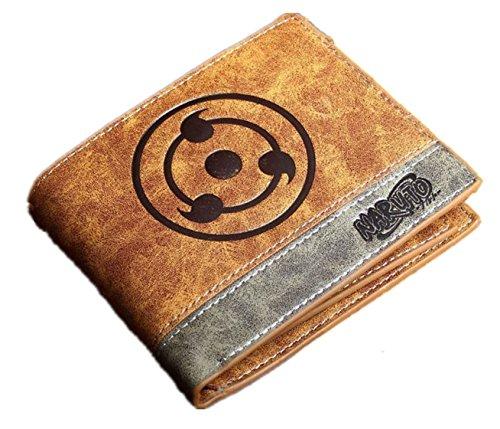 hotproduct Naruto Sharingan Geldbörse PU Leder Karte Fall