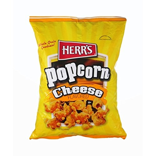 Read About Herr's Cheese Flavored Popcorn - 7 Oz. (4 Bags)