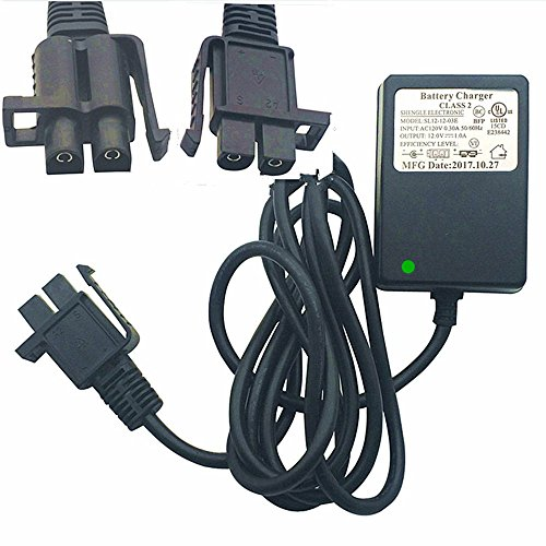 RHT 12V shape Style Charger For Ride On Car 12 Volt Children's Electric Ride-On Toys Battery Supply by Power Adaptor with Charging Indicator Light