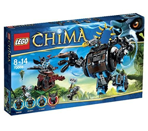 LEGO Legends of Chima 70008 - Gorzans Gorilla-Roboter
