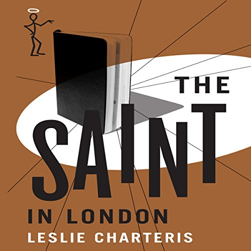 The Saint in London audiobook cover art