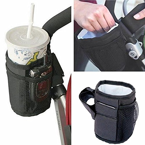 ZREAL Fles Houder Melk Fles Cup Stand Voor Universele Kinderwagen Pram Pushchair Fiets Buggy
