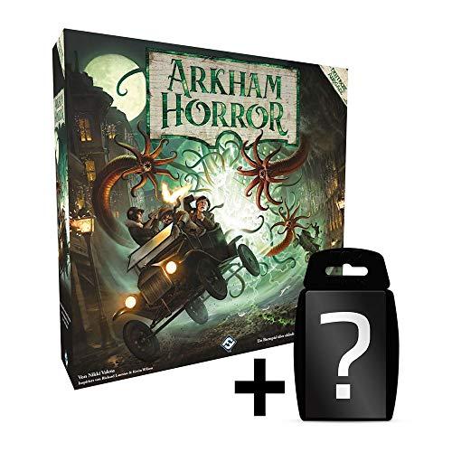 Arkham Horror - Grundspiel - Brettspiel 3. Edition | DEUTSCH | Set inkl. Kartenspiel