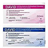 30 David Ovulationstest 10 miu/ml + 5 Schwangerschaftstest - Streifen -