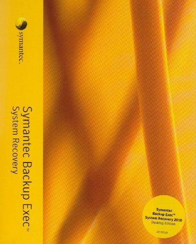 Symantec Backup Exec System Recovery 2010 Desktop Business Pack [import allemand]