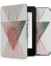 kwmobile 対応: Amazon Kindle Paperwhite カバー - 電子書籍ケース 衝撃吸収 汚れ 傷 防止 - オートスリープ PUレザー
