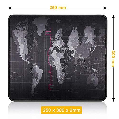 Muismat, Gaming-muismat Gamer Grote muismat Grote computer Mousepad Led-achtergrondverlichting XXL Surface Mause Pad Toetsenbord Bureaumat, 250 x 300 x 2 mm