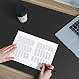 INDIAN DECOR 90663 Extra Large Mouse Pad 120x60cm, Double-Sided Desk Pad, Multifunctional Extended