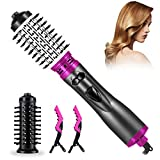 Hot Air Brush, One Step Hair Dryer Hot Air Styling 3 in 1 Negative Ion Hair <span class='highlight'><span class='highlight'>Rotating</span></span> Styler