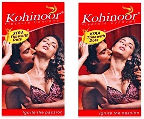 Kohinoor Pleasure Dotted Condom - 20 S(Set of 2)