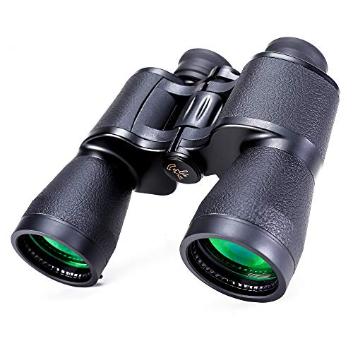 Prismáticos 20x50 para Adultos, Prismáticos Compactos HD Telescopio Profesional Impermeable para Observación de Aves, Viajes, Caza, Conciertos, Deportes