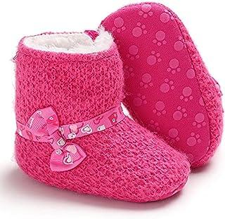 حذاء فليس ميكس اند ماكس للبنات - 9-12 شهر - فوشيا