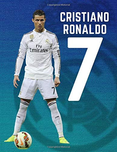 CRISTIANO RONALDO #7: The Legend of Real Madrid / Notebook, Journal, Paperback (8,5 x 11, 110 Pages, Quad Ruled)