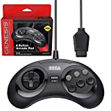 Retro-Bit Official Sega Genesis Controller 6-Button Arcade Pad for Sega Genesis - Original
