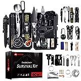 Kit di sopravvivenza militare professionale di terza generazione di emergenza montagna trekking (kit 60 in 1)