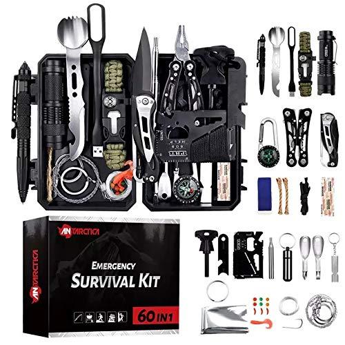 Kit de survie militaire professionnel de troisième génération d'urgence montagne excursion randonnée