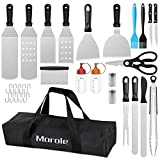 Morole Kit BBQ di Utensili,22 Pezzi Set Barbecue Set di Strumenti per Barbecue Set di...