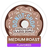 It's real and its delicious. Coffee bursting with fresh-baked chocolate donut flavor Medium roast, flavored coffee Orthodox Union Kosher Compatible with Keurig K-Cup pod single-serve coffee makers