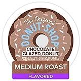 The Original Donut Shop Chocolate Glazed Donut, Single-Serve Keurig K-Cup Pods, Medium Roast Coffe, 72 Count