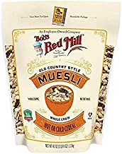 Bob's Red Mill Resealable Old Country Style Muesli Cereal, 40 Oz (4 Pack)
