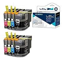 LCL Brother用 ブラザー用 LC219/215-4PK LC219 LC215 LC219BK LC215C LC215M LC215Y(2*4色セット 2ブラック 2シアン 2マゼンタ 2イエロー) 互換インクカートリッジ ICチップ残量表示検知機能付き 対応機種:J5620CDW/J5720CDW/ J5820DN