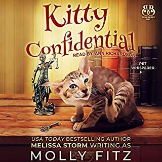 Kitty Confidential audiobook cover art