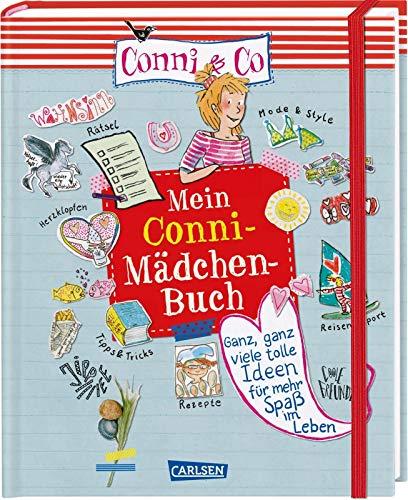 Conni & Co: Mein Conni-Mädchen-Buch: Ganz viele tolle Ideen für mehr Spaß im Leben. Das perfekte Eintragbuch zum Selbstgestalten und Eintragen: mit ... Rezepten, Tipps & noch viel mehr!
