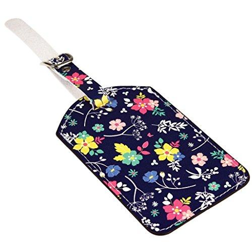 dotcomgiftshop Luggage Tags - Choice Of Design (Ditsy Garden)