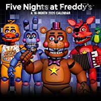 Five Nights At Freddy's 2020 Calendar - Official Square Wall Format Calendar