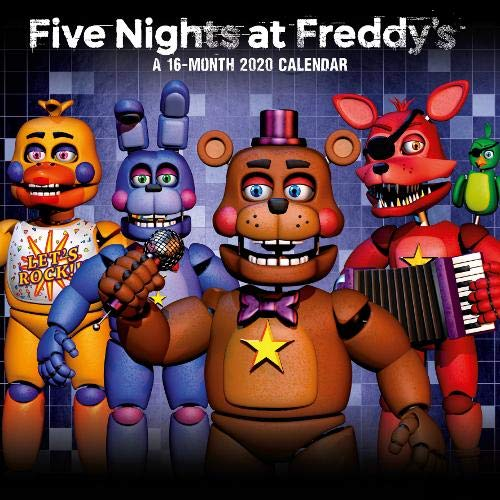 Five Nights At Freddy's 2020 Calendar - Official Square Wall