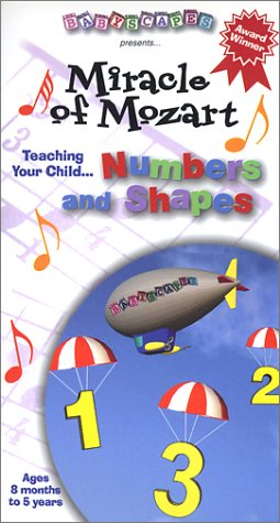 Babyscapes: Baby's Smart - Mozart - Numbers [VHS]
