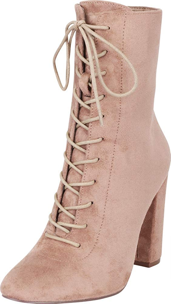 Max 74% OFF trust Cambridge Select Women's Lace-Up Bloc Chunky Victorian Steampunk