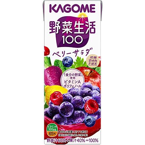 カゴメ 野菜生活100 エナジールーツ 200×12 [5514]