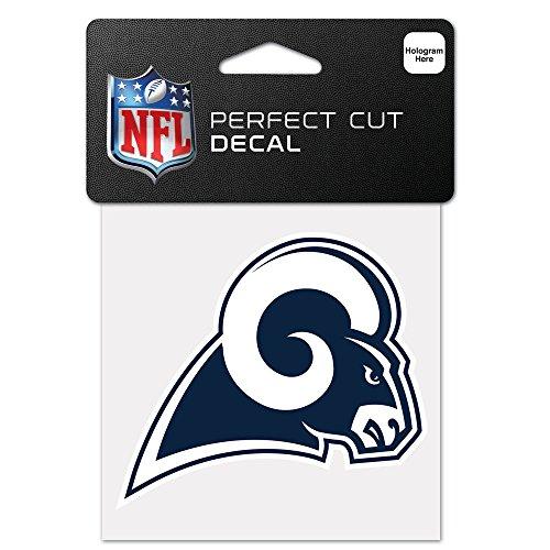 Wincraft NFL 63090011 Perfect Cut Color Aufkleber, 10 x 10 cm, Schwarz