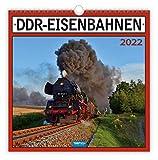 Trötsch Technikkalender DDR-Eisenbahn 2022: mit Bildern und Texten von Jan & Patrick Welkerling: 30 x 30 cm, mit Bildern und Texten von Jan & Patrick...