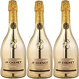 JP CHENET DIVINE Vin de Pays - Gold - Muscat - Vin Effervescent Demi-Sec 750 ml Lot de 3