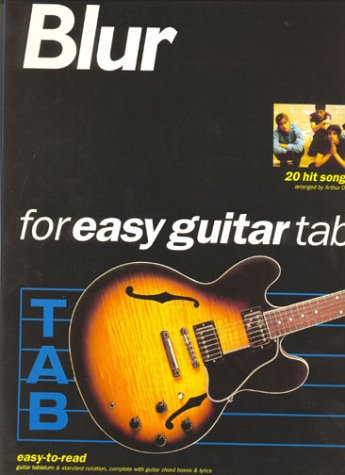 Blur for easy guitar tab: Easy-to-read guitar tablature & standard notation, complete with guitar chord boxes & lyrics